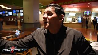 "ANGEL GARCIA ""3RD BIGGEST CASH COW IN BOXING IS DANNY! ALOT OF THESE ATHLETES ARE PART TIME!"""