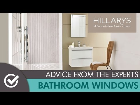 Bathroom windows: the big questions with Hillarys