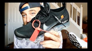 Nike x Off White Vapormax Part 2 Black Review & On ...