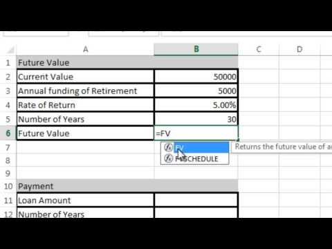 Excel 2013 Tutorial 7: Formulas Part 2