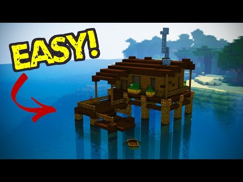 How to Build a Starter Minecraft Water House