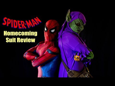 Spiderman Homecoming Suit Review