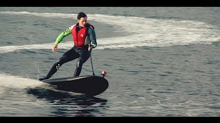 Luxury Water Toy: Electric Powered Jet Surfboard LAMPUGA