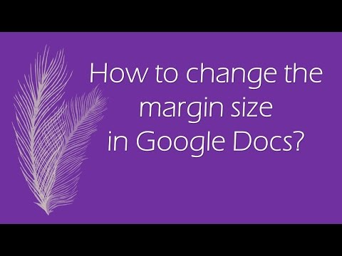 How To Change The Margin Size In Google Docs