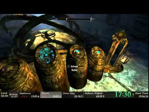Skyrim Any% Speedrun 41:47