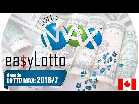 Lotto Max numbers 16 Feb 2018