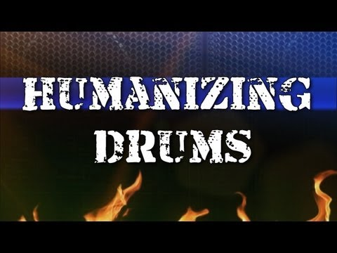 Make your midi drums sound more human and realistic