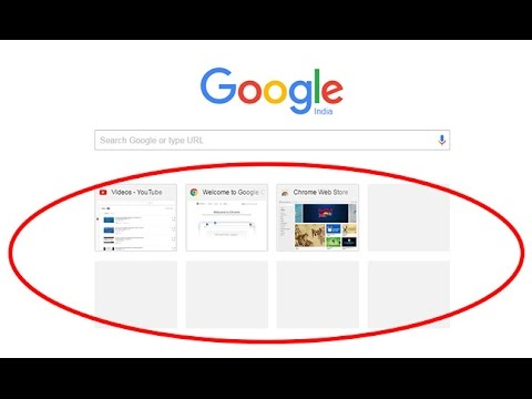how to remove thumbnails from google chrome homepage