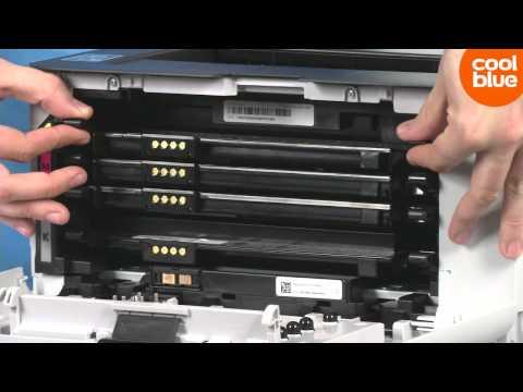 Hoe vervang je de toners van de Samsung Xpress C410W
