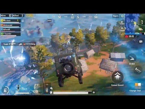 PUBG Mobile Game Play | Amazing Driving | Teamwork | Winner  Winner Chicken Dinner