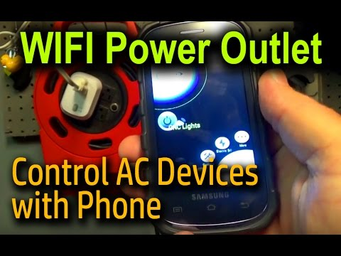 ECO Wireless WIFI Power Outlet - Control AC Devices with Phone