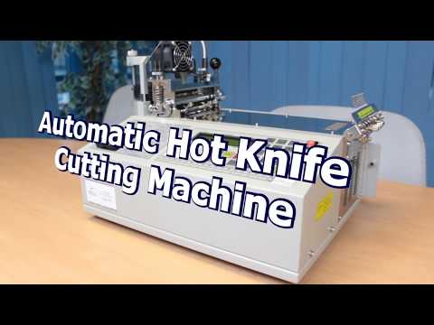 Automatic Hot Knife Ribbon Webbing Cutter