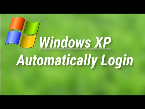 Automatically login to Windows XP with a user account