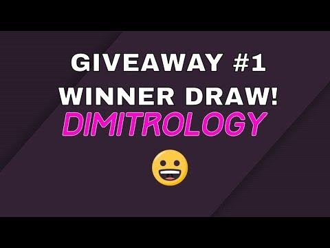 Dimitrology Live #0008 - 100K GIVEAWAY N#1 WINNER DRAW