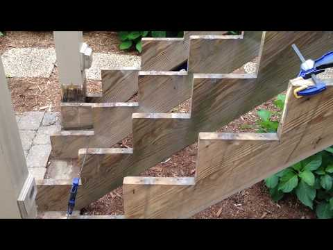 How to repair decks & stairs wood rot. Better Stronger.