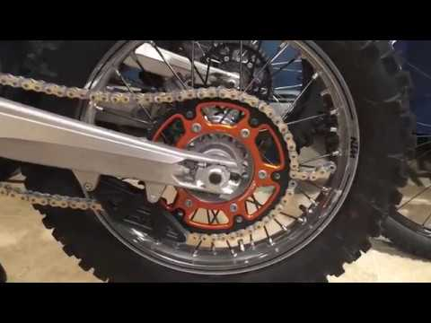 Dirtbike - How to cut and size your NEW dirt bike chain