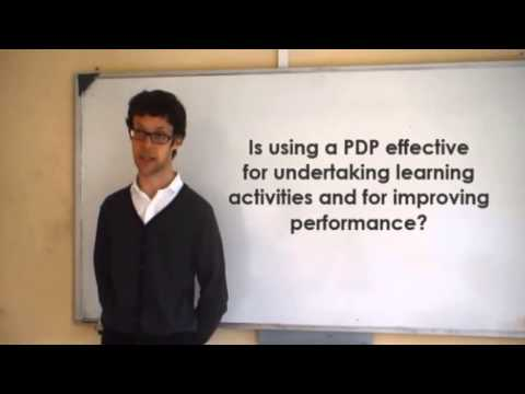 Effect of using a personal development plan on learning and development