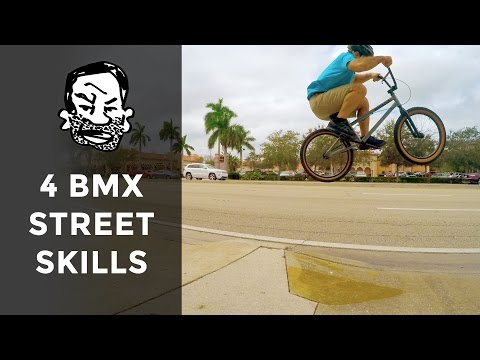 4 BMX Skills to Learn First