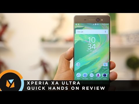 Xperia XA Ultra Hands-On Video Review