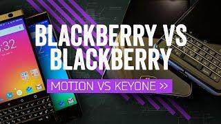 BlackBerry Motion vs KEYone: Buttons Make The BlackBerry
