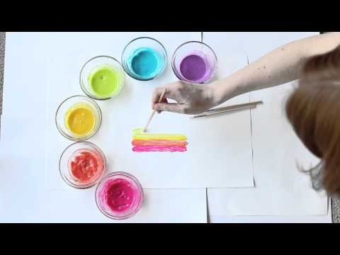 Taste Safe No Cook Paint Recipe for Art You Can Keep