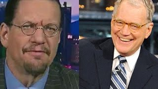 """Penn Jillette Talks About His 2nd Appearance On """"Late Night w/ David Letterman"""" & The Actual Segment"""