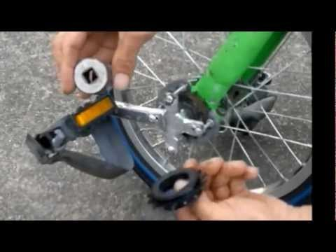 How To Make A Drift Trike Front Wheel...The finished drift wheel.