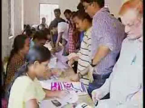 Special Camp for Voter Registration held