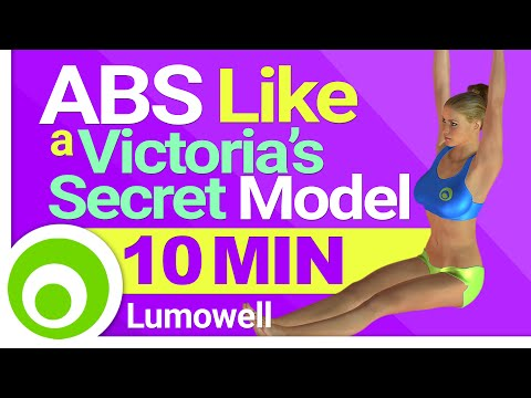 ABS Victoria's Secret Model Workout