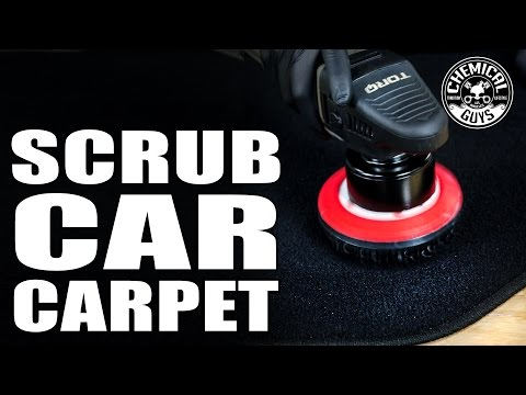 How To Clean And Scrub Car Carpet Professionally - Chemical Guys