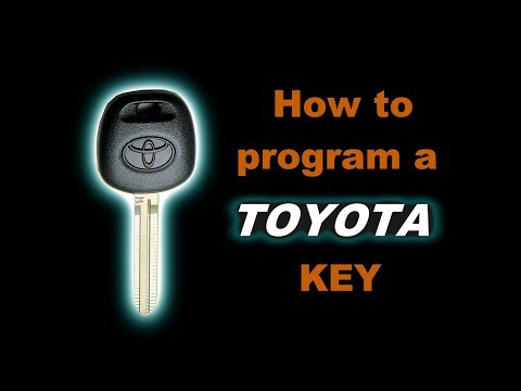 🤠   DIY: How to program a Toyota Sienna Ignition Key. Easy to follow walk through guide.