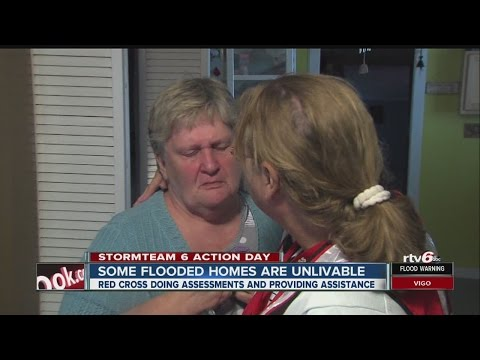 Red Cross helping flood victims recover