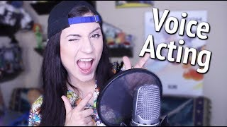 How to start a Voice Acting Career (vo demos, agents, auditions, more)