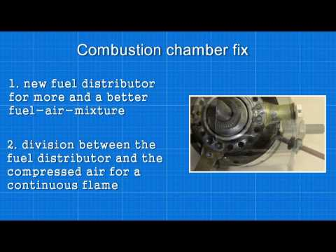 Selfmade Jet Engine : Combustion Chamber Fix