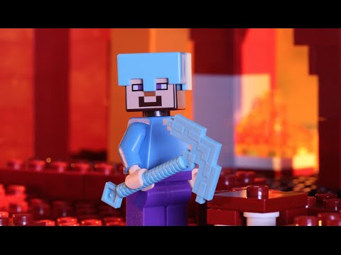 The Nether Fortress - LEGO Minecraft - Stop Motion Music Video