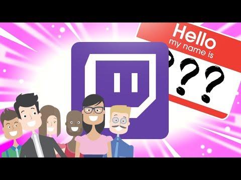 How to change Username & Display Name on Twitch (2018)