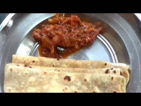 Thakali Curry (Malayalam)/Tomato Chutney/side dish for chapathi
