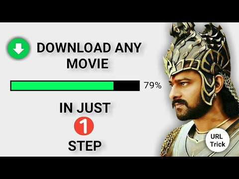 How to find Direct Download link of any movie | URL trick