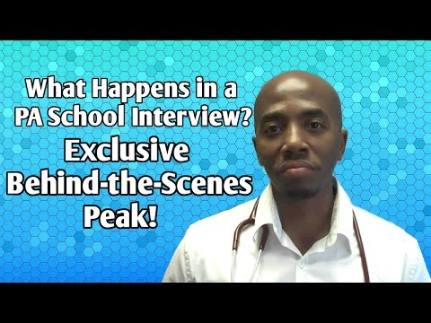 What Happens in a PA School Interview? Exclusive Behind-the-Scenes Peak!