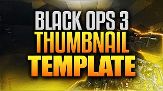 free bo2 thumbnail template pack videos