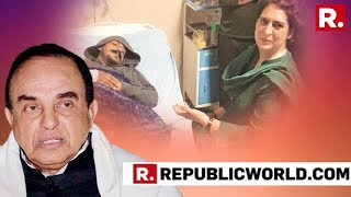 BJP MP Dr Subramanian Swamy Speaks Exclusively To Republic TV Over Bhim Army Chief's Threat