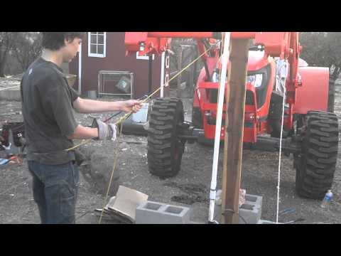 How to remove a deep well pump and install it