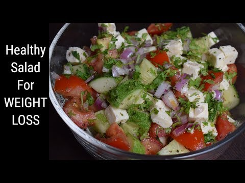 Healthy Salad for Weight Loss | Easy Diet Recipe