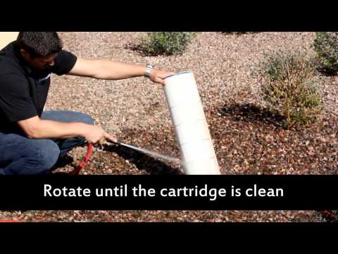 How to Clean A Cartridge Pool Filter