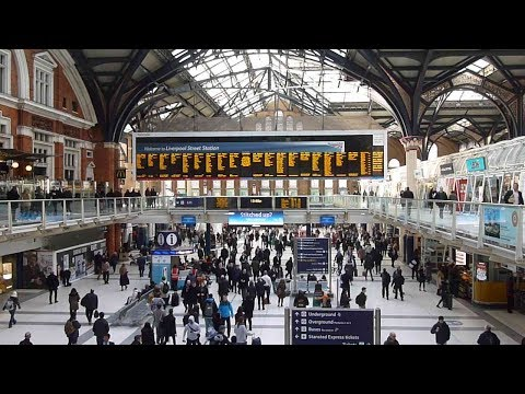 Trains at: London Liverpool Street Station, part one