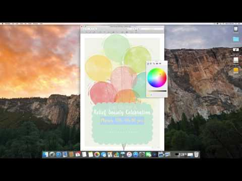 How To Edit Printables on a Mac
