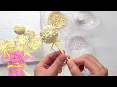 How to make marshmallow pops