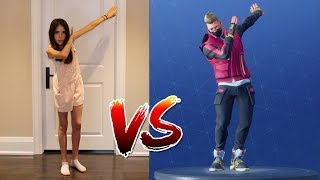 FORTNITE DANCE CHALLENGE! - (In Real Life) - ALL NEW DANCES!!