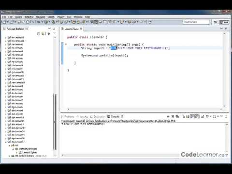 Mastering Java   Vol 4   Lesson 17   Changing A String To Lowercase Or Uppercase 9