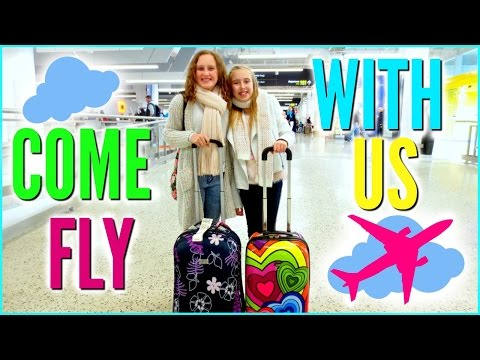 COME FLY WITH US ! Musical.ly On A Plane & What Kids Do On A Flight    Vacation Vlog 1.